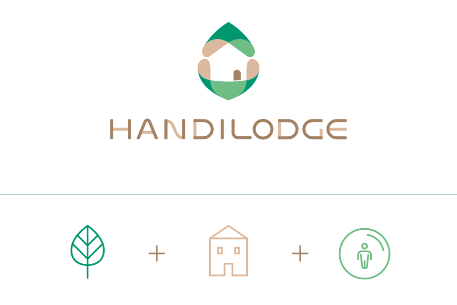 Explication du logo Handilodge
