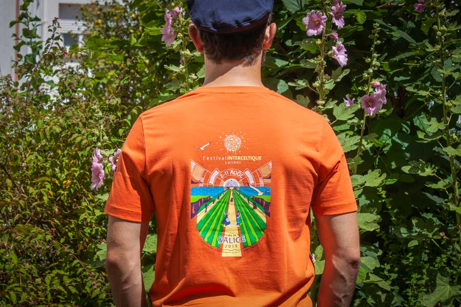 FIL t-shirt officiel 2019 Festival Interceltique