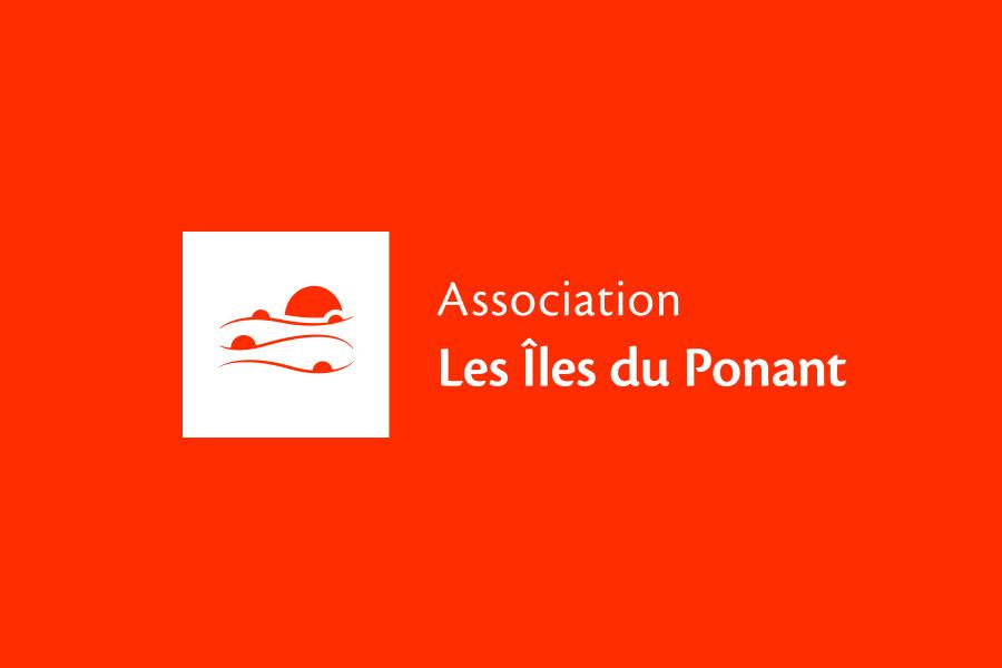 Nouveau logo de l'association Les Îles du Ponant