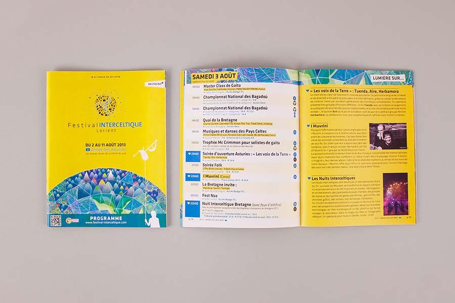Le petit programme du Festival Interceltique de Lorient 2013 - Asturies