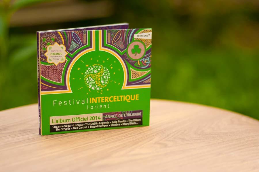 Album du Festival Interceltique 2014 - année de l'Irlande