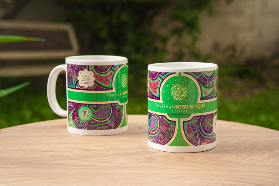 Mugs aux couleurs du Festival Interceltique de Lorient 2014
