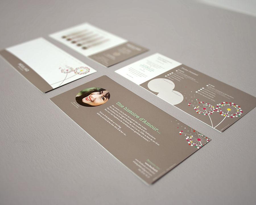 Déclinaison de cartes de correspondance pour Heuliad