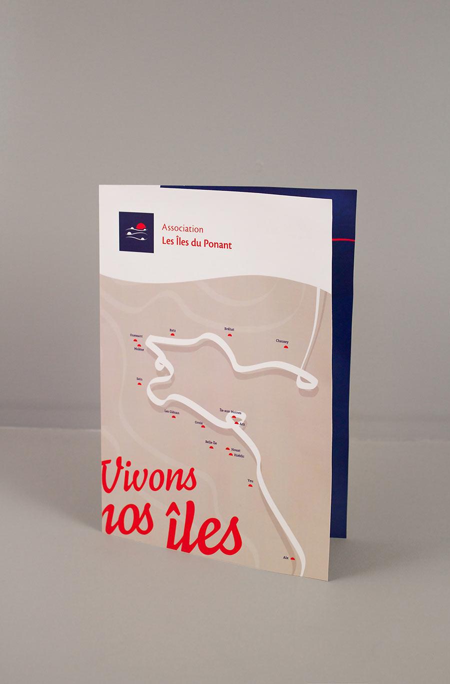 Plaquette de présentation de l'Association Les Îles du Ponant