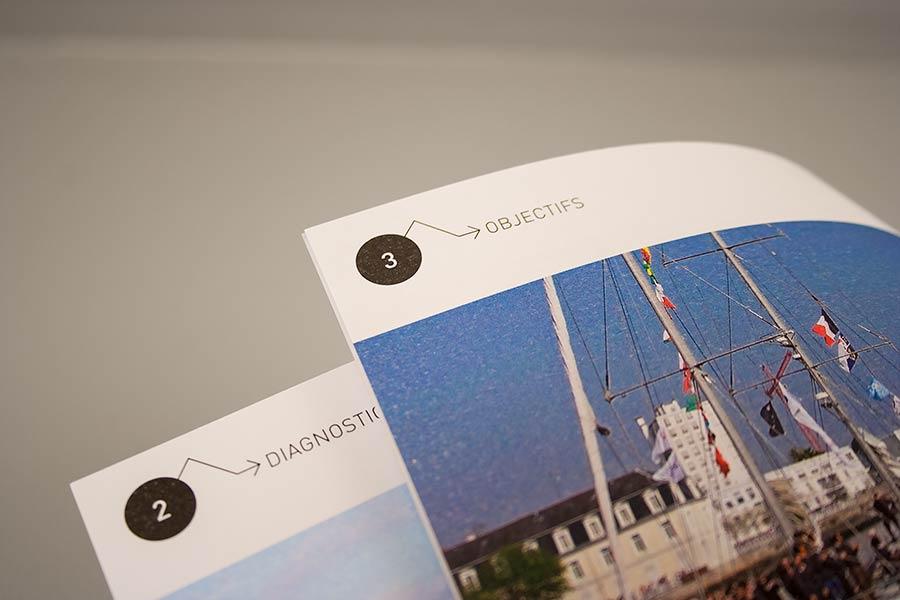 Détail du rubricage du schéma de développement touristique de Lorient Agglomération
