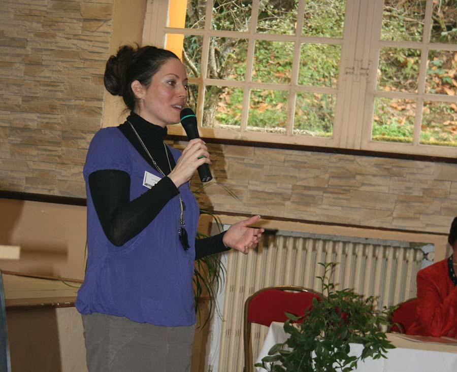 Intervention de Catherine et Joris lors de l'AG, pour faire part du point de vue de l'agence sur le projet