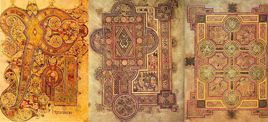 Extraits du livre de Kells