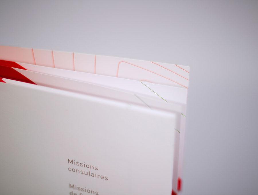 Détail des textures du bilan d'activité 2013