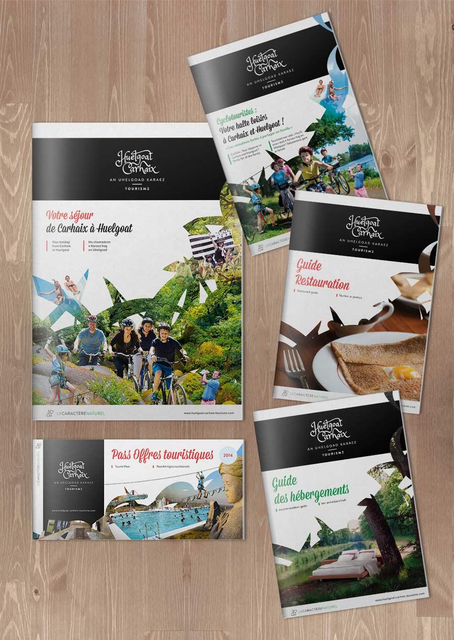 Les éditions touristiques 2014 de Huelgoat-Carhaix Tourisme