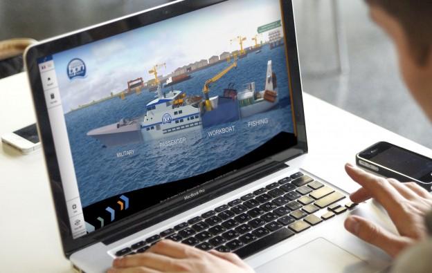 Plateforme numérique Bretagne Pôle Naval