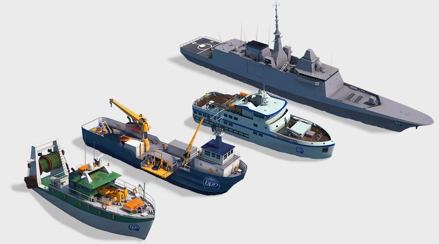 bateaux 3D