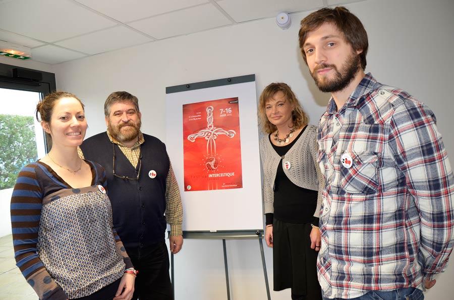 Conférence de Presse De gauche à droite : Catherine Radenac, Lisardo Lombardia, Rachel Wuhrlin et Joris Tricoire.