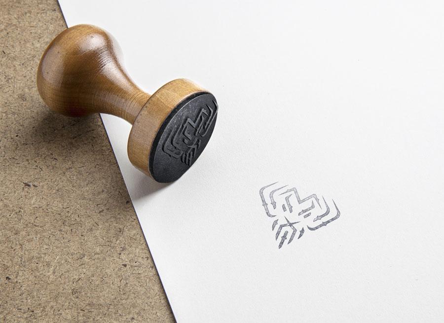 Mise en situation du projet de tampon pour les cartes de fidélité.