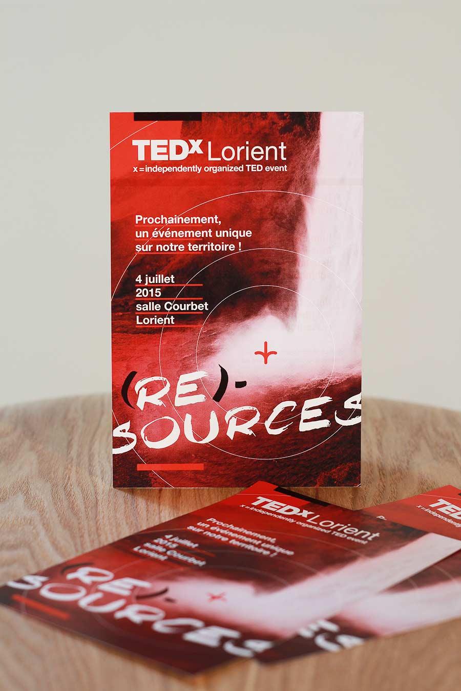 Réalisation du flyer de la conférence de Lorient