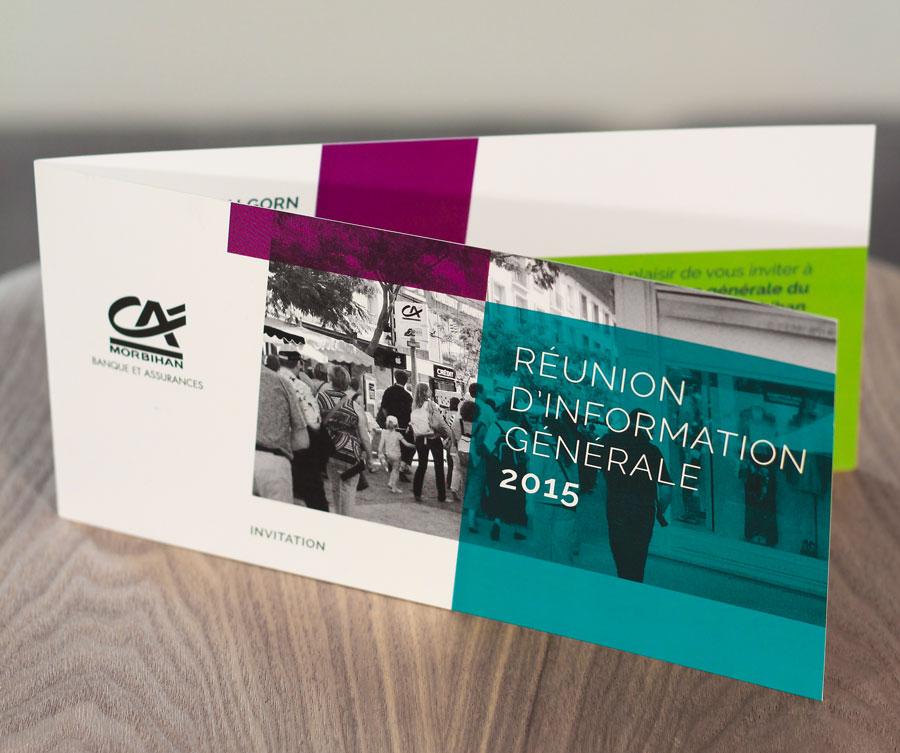 invitation à l'assemblée générale 2014 du Crédit Agricole du Morbihan