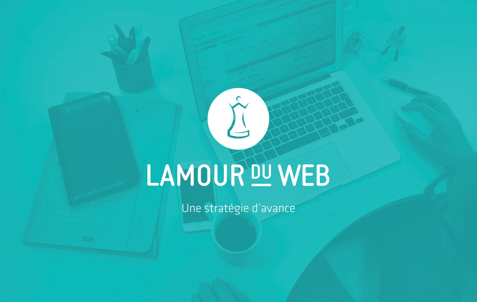 Identité visuelle Lamour du web