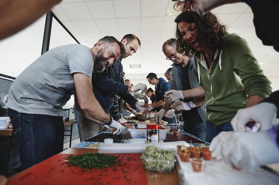 Atelier cuisine avec les produits de la mer