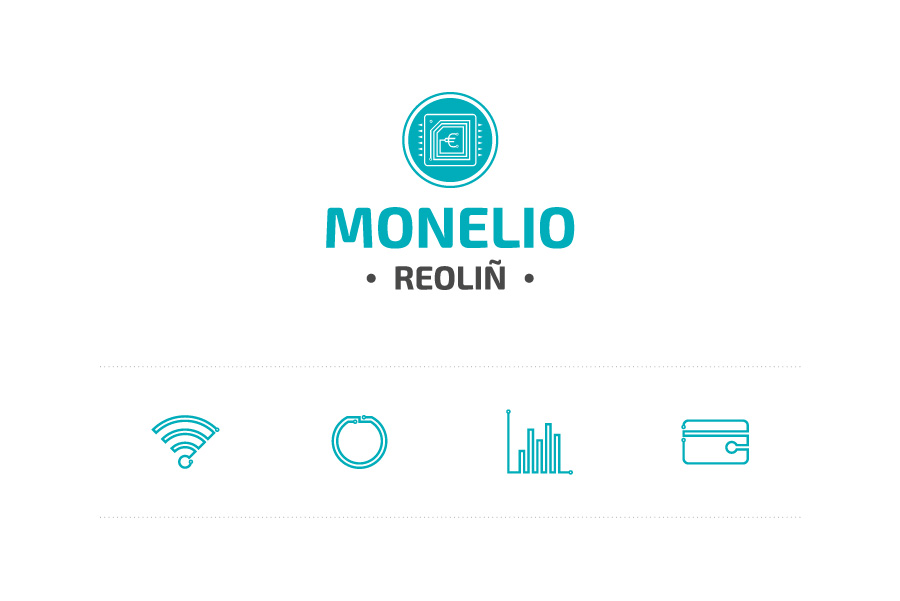 Logo et pictogrammes Monelio