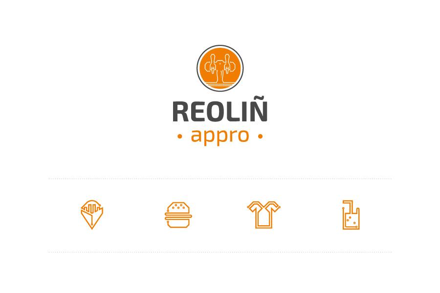 Logo et pictogrammes Reoliñ Appro