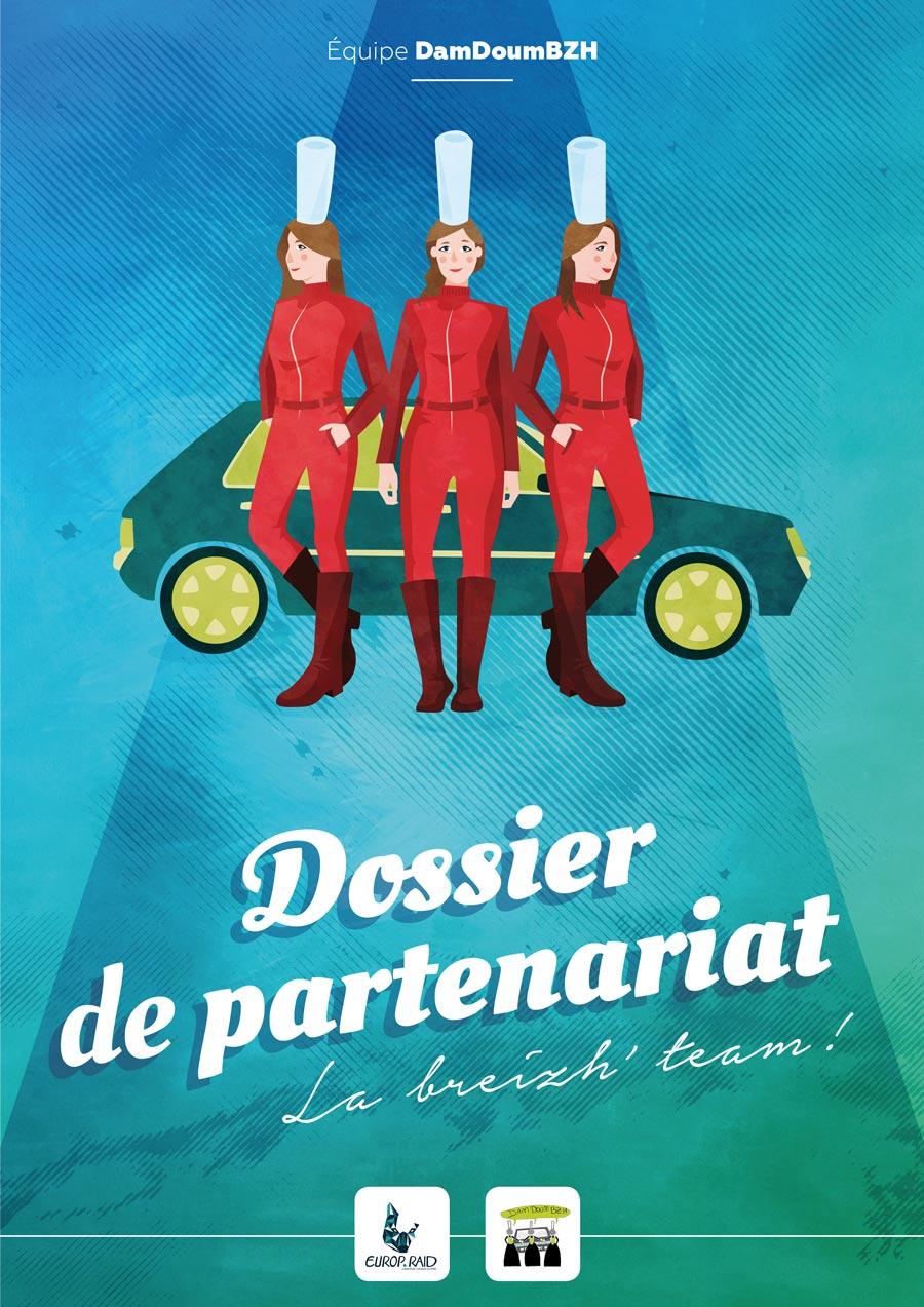 Couverture du dossier de partenariat de Dam Doum Breizh