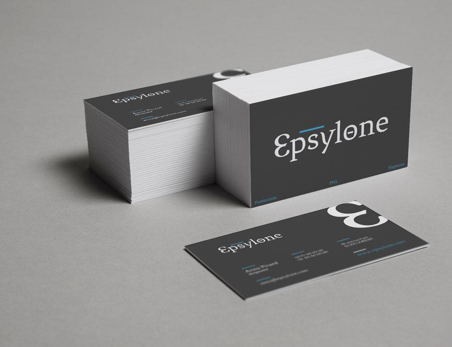Cartes de visite Epsylone