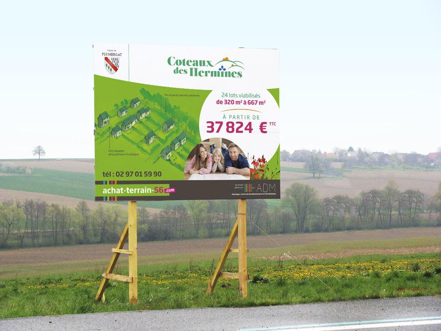Panneau In situ Plumergat