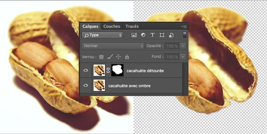 photoshop avec deux calques