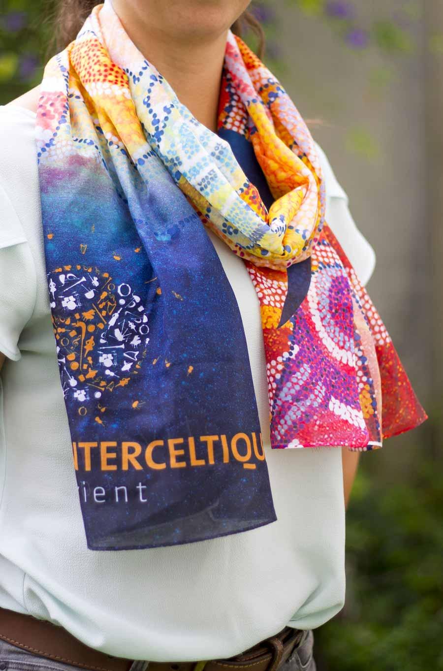Le foulard, une des belles nouveautés 2016