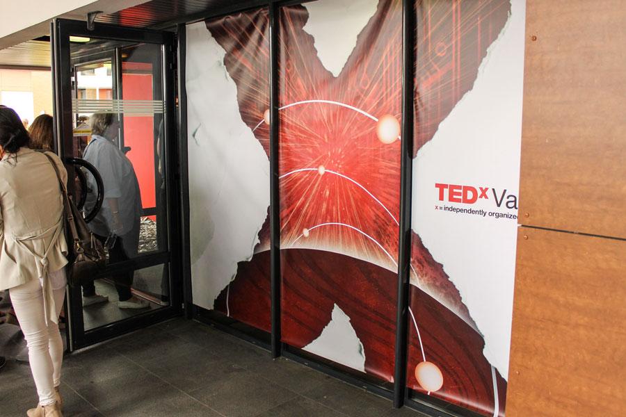 Bâche TEDx Vannes
