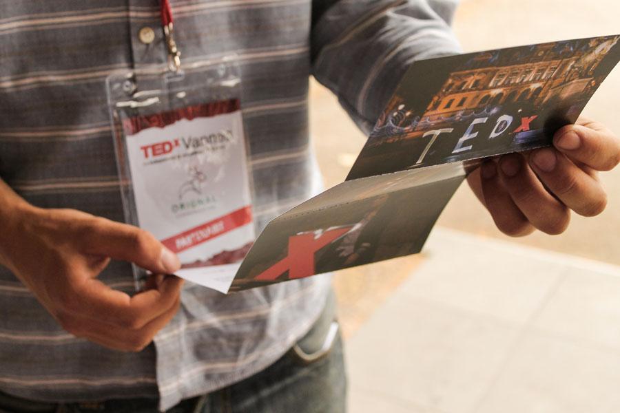 Dépliant TEDx Vannes
