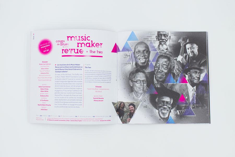 Page Music Maker Revue du programme des Arcs