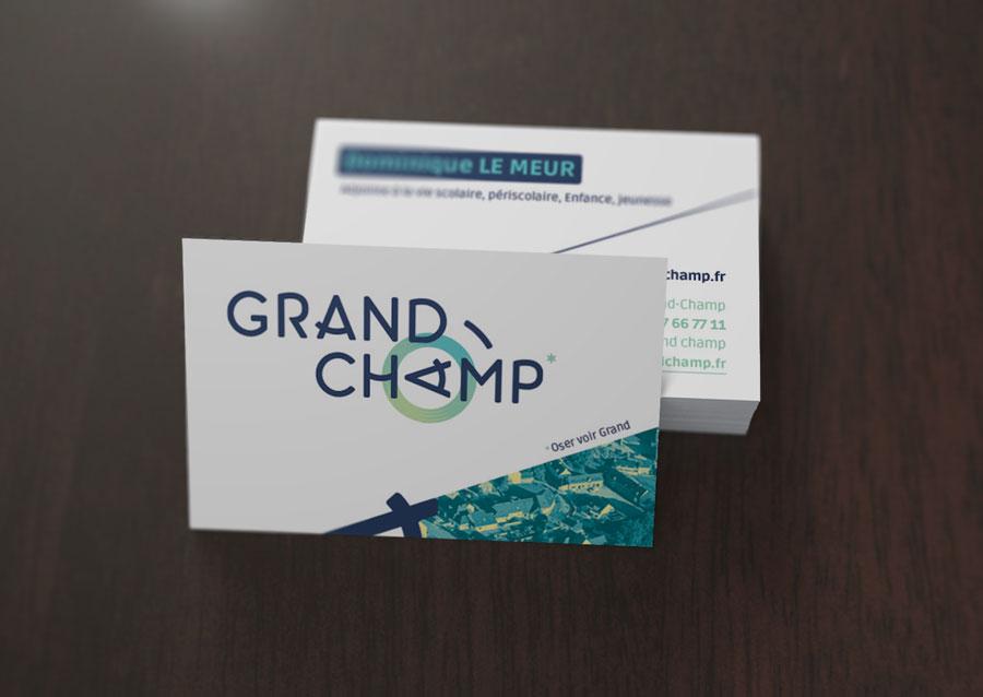 Carte de visite Grand-Champ
