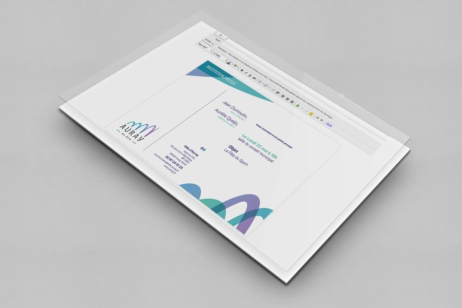 Auray invitations numérique