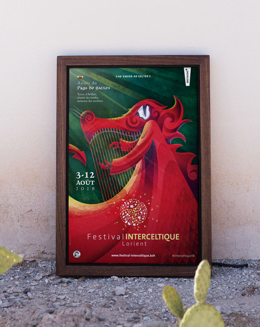 40x60 Affiche FIL Interceltique 2018