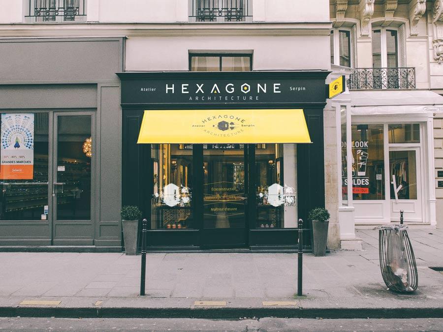 Façade Hexagone Architecture