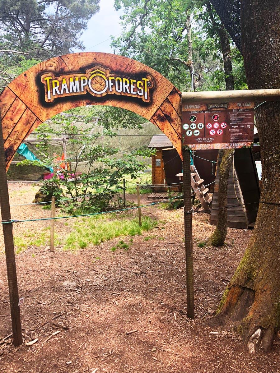 Arche trampôforest