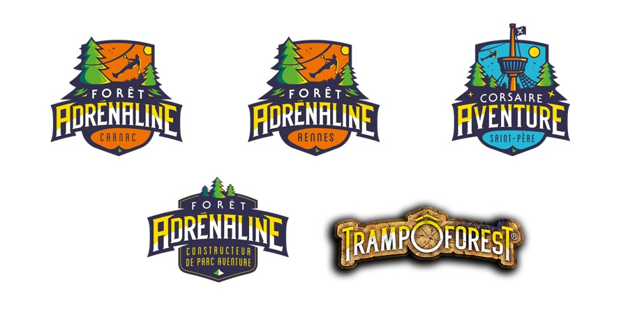 liste logos forêt Adrénaline