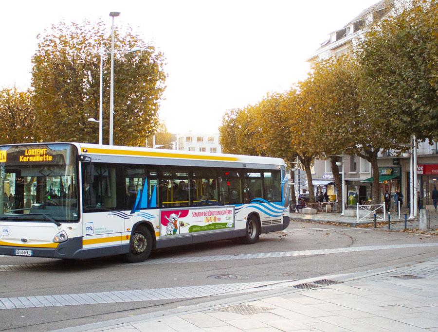 Bus semaine de réduction des déchets 2018