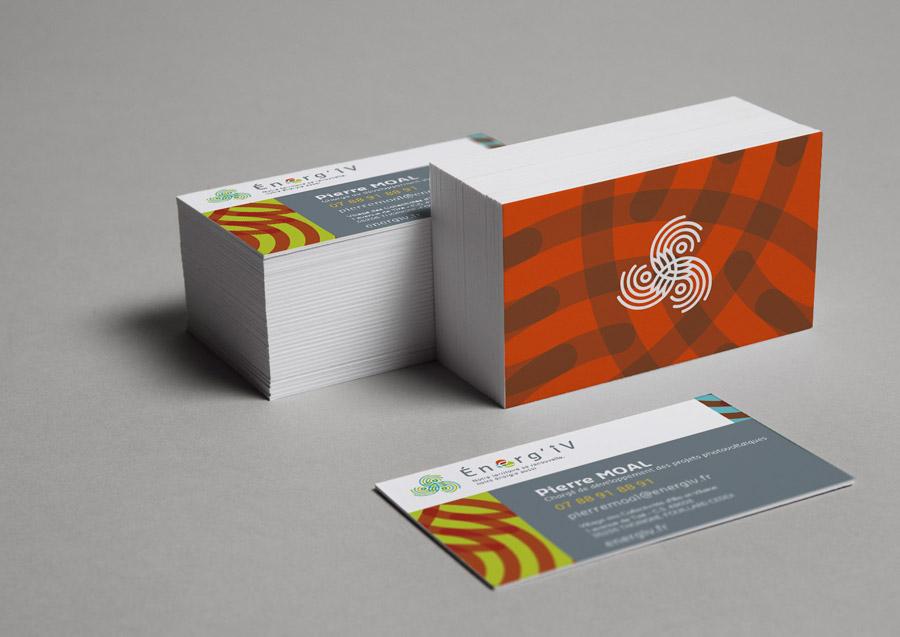 cartes de visite Energ'iv