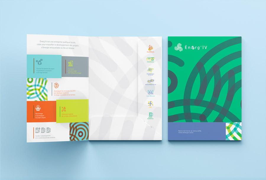 pochette à rabat Energ'iv