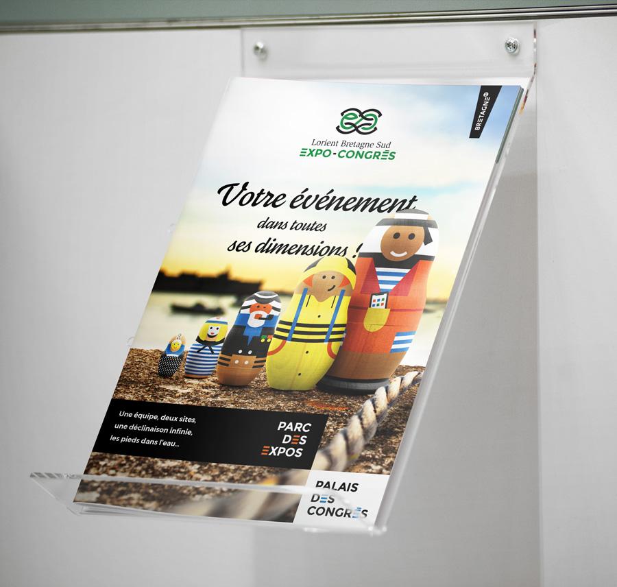 plaquette Expo-congres Lorient Bretagne Sud