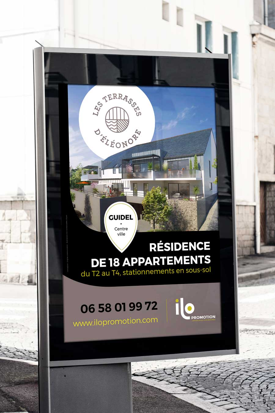 Affiche 120x176 les terrasses d'éléonore