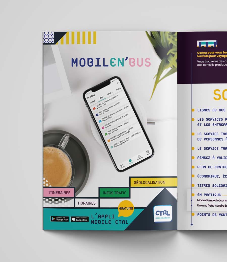 Pub Mobilen'Bus CTRL lorient