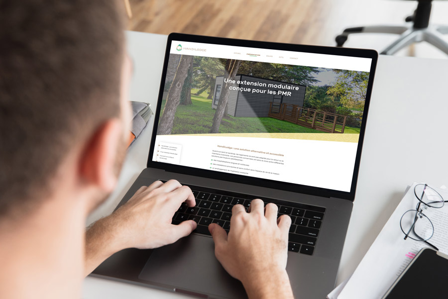 Site web Handilodge