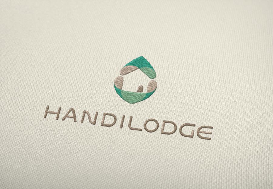 Exemple non réalisé d'utilisation du logo Handilodge