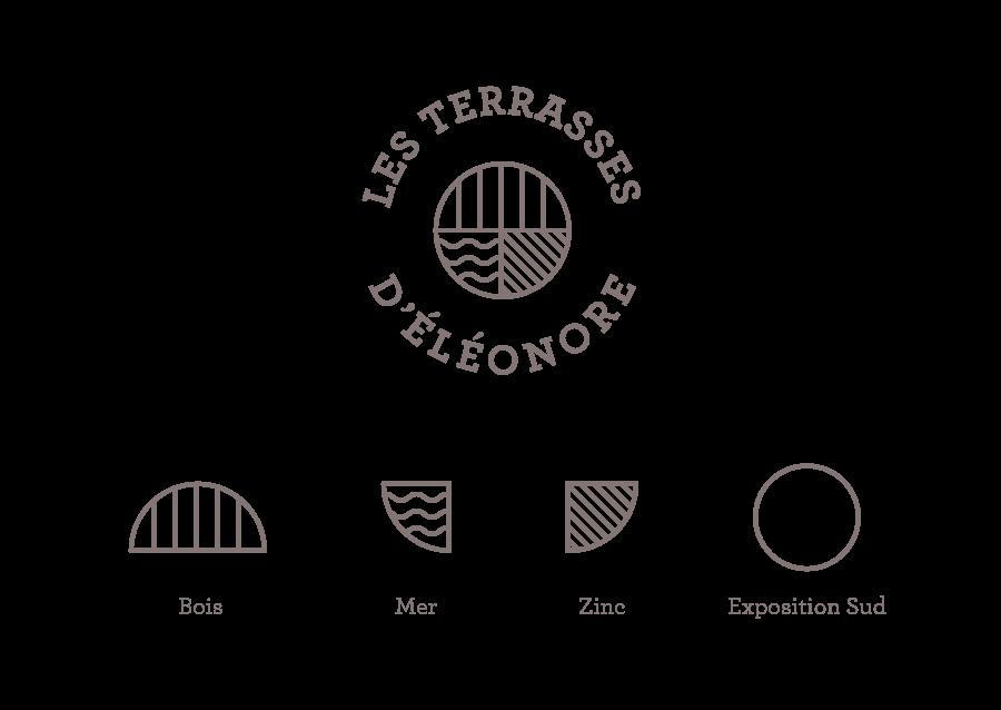 Explications du logo des Terrasses d'Éléonore