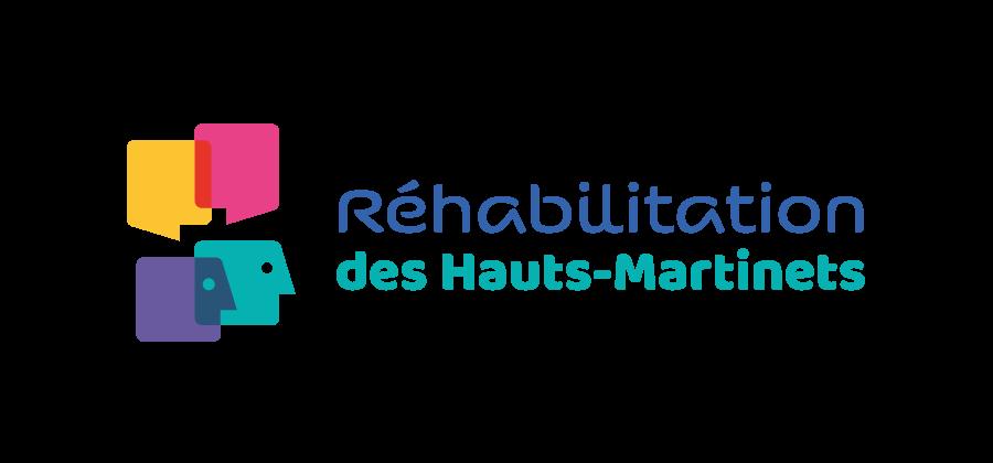 Logo créé à l'occasion de la concertation pour la réhabilitation de la résidence des Haut-Martinets