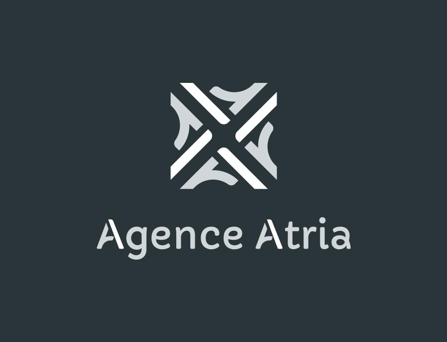 Le nouveau logo de l'Agence Atria