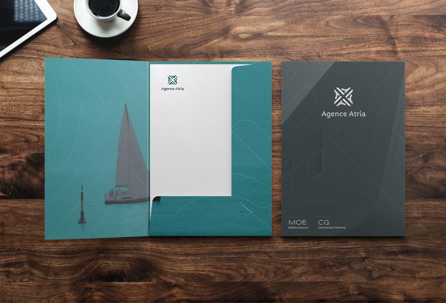 La pochette de l'Agence Atria