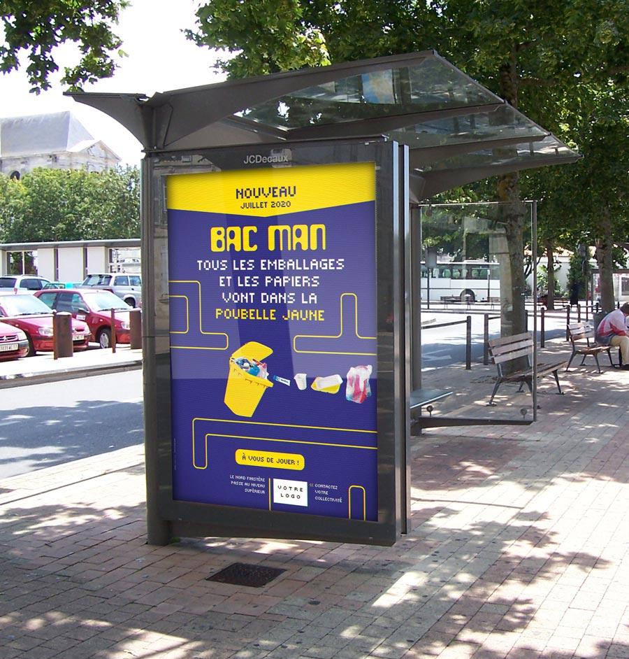 affichage 120x176 campagne bac man